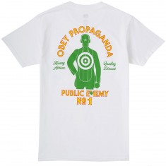 Obey Public Enemy No 1 T-Shirt - White
