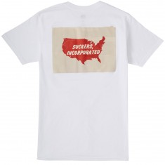 Obey Suckers Inc T-Shirt - White