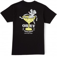 Obey Rat Poison Pocket T-Shirt - Black