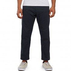 Obey Straggler Flooded Pants - Dark Ink