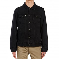Obey Creeper Denim Jacket - Dusty Black