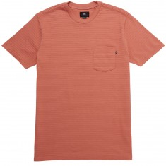 Obey Lombard Pique Pocket T-Shirt - Rose