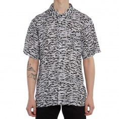 Obey Uproar Woven Shirt - Black Multi