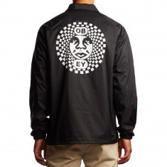 Obey Dance Party Coaches Jacket - Black