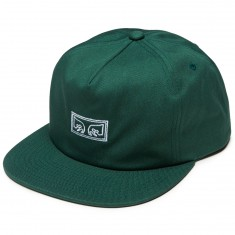 Obey Subversion Snapback Hat - Spruce