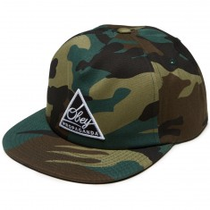 Obey New Federation III Snapback Hat - Camo