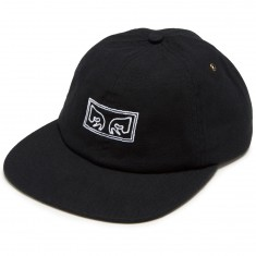 Obey Live Wire 6 Panel Hat - Black
