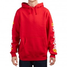 Obey Total Chaos Hoodie - Red