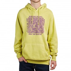 Obey No Master Hoodie - Dusty Celery