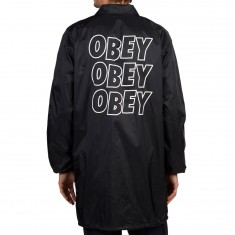 Obey Obey Jumble Lo Fi Jacket - Black