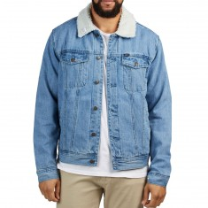 Obey Off The Chain Jacket - Light Indigo