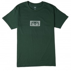 Obey Eyes T-Shirt - Forest Green