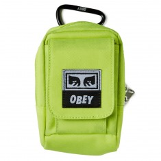 Obey Drop Out Utility Small Bag - Saftey Green