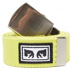 Obey Big Boy Web Belt - Saftey Green