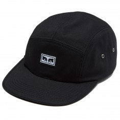 Obey Subversion 5 Panel Hat - Black