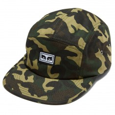 Obey Subversion 5 Panel Hat - Field Camo