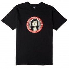 Obey Wake Up Silent Majority T-Shirt - Black