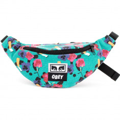 Obey Wasted Hip Bag - Teal Multi