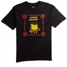 Obey Smash Racism T-Shirt - Black