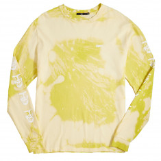Obey The Creeper Long Sleeve T-Shirt - Safety Green