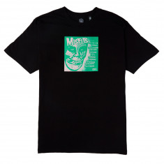 Obey X Misfits 7in Cover T-Shirt - Black