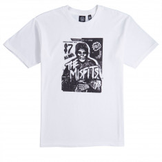 Obey X Misfits Show Flyer T-Shirt - White