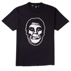Obey X Misfits Teenagers From Mars T-Shirt - Off Black