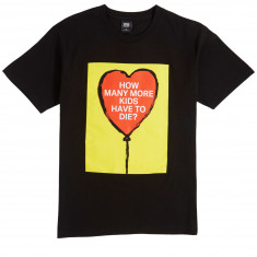 Obey How Many More Kids? T-Shirt - Black