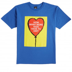 Obey How Many More Kids? T-Shirt - Royal Blue