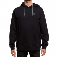 Volcom Single Stone Pullover Hoodie - Black/Black
