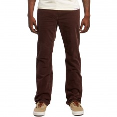 Volcom Solver 5 Pocket Cord Pants - Plum