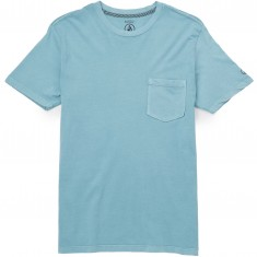 Volcom Pale Wash T-Shirt - Stone Blue