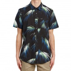 Volcom Maui Palm Shirt - Black