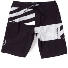 "Volcom Lido Block Mod 21"" Shorts - Black/White"