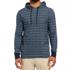 Volcom Alden Hooded Long Sleeve T-shirt - Airforce Blue