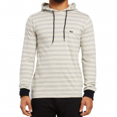 Volcom Alden Hooded Long Sleeve T-shirt - Egg White