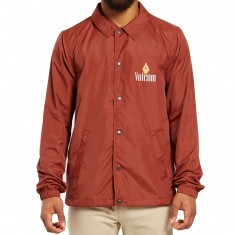 Volcom Recall Coaches Jacket - Dark Clay