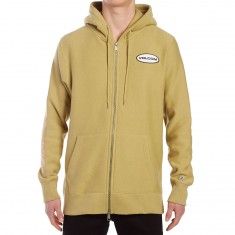 Volcom Comply Zip Pullover Hoodie - Poison Green