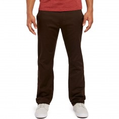 Volcom Fricken Modern Stretch Chino Pants - Bark Brown