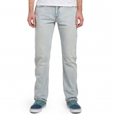 Volcom Solver Denim Jeans - Sure Shot Light
