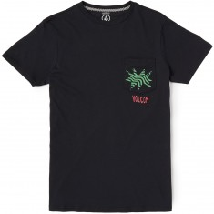 Volcom Mag Pocket T-Shirt - Black