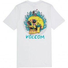 Volcom Shred Skull Pocket T-Shirt - White