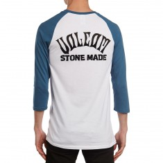 Volcom Wrecker Raglan T-Shirt - Deep Water