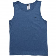 Volcom Solid Heather Tank Top - Smokey Blue
