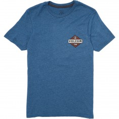 Volcom Caution T-Shirt - Smokey Blue Heather