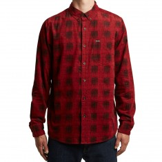 Volcom Maxwell Long Sleeve Shirt - True Red