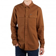 Volcom Ketil Longsleeve Shirt - Mud
