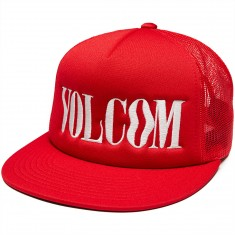 Volcom Spangler Cheese Hat - True Red