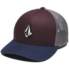 Volcom Full Stone Cheese Hat - Cabernet