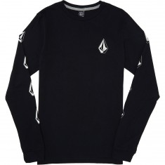 Volcom Deadly Stone Long Sleeve T-Shirt - Black